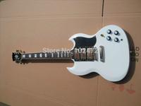 Classic SG custom 3 pickup white  Electric Guitar