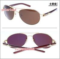 Famous luxury metal brand designer men's polarized sunglasses 206 driver mirror