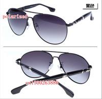 Retro classic toad brand polarized sunglasses for men MB318 driver mirror