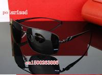 The men's new leopard head polarized sunglasses driver mirror 913 free shipping