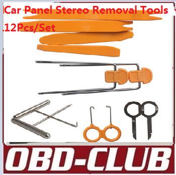Car Panel Stereo Removal Tools 12Pcs/Set locksmith(China (Mainland))