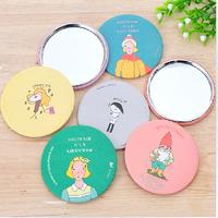 Free shipping hand mirror Make Up Mirror,Cute Pocket Compact Handbag Mirror Cosmetic