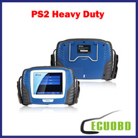 2014 Original Professional Heavy Duty Scanner PS 2 Update Via Internet PS2 Truck Diagnostic Tool DHL Free Shipping