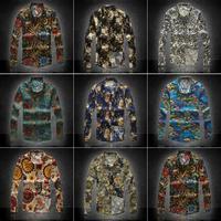 Man Autumn Flax Long-sleeve Slim Fit Linen Casual Shirts Size M L XL XXL XXXL 4XL 5XL 6XL 8 Colors Avaible Choice