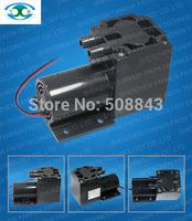 60L/M electric diaphragm brush dc motor low pressure  high flow air pump
