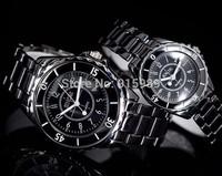 50pcs/lot hot sale cheap ceramic sinobi couple watches men women fashion luxury watch brand lovers' watch