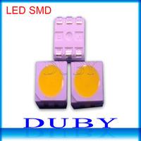 10000pcs/lot SMD 5050 LED Chips Warm White/White LED 5050 Lamp Beads LED 5050 Diodes 10-12lm for LED Light Lamp Lighting FreeDHL