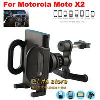 360 Degree Rotating Mobile Phone Holders Stand Car Air Vent Holder  For Motorola Moto X (2014)  Moto X2, Moto X+1