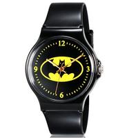 Willis for Mini Kid's Student's Fashionable Bats Pattern Analog Wrist Watch
