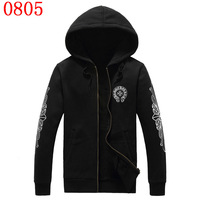 New 2014 autumn and winter fashion painting hooded sweatshirts and cashmere sweater thick warm men Fleece hoodied free shipping