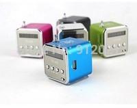 NEW Micro SD TF USB Mini Speaker Music Player Portable FM Radio Stereo PC mp3