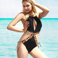 DYYY-0286 Brand sexy ruffle one piece trigonometric swimwear Monokini Beachwear for Holiday hot sell bathing suit