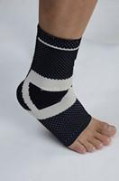 New Hot Far Infrared Knitting Taekwondo Protector Tourmaline Self-heating Basketball Ankle Support Brace STA2411