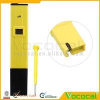 10PCS/LOT Digital Pocket Pen Type PH Meter Testers for Swimming Pool Aquarium 0-14 Pocket Pen Aquarium , Free Shipping