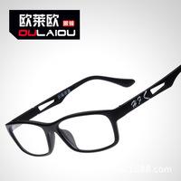 lane mirror imitation tungsten titanium steel glasses frame of men and women the same paragraph myopia glasses frame Han