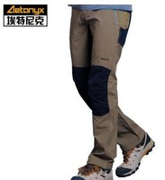 2014 new winter brand quick-drying pants, men elastic wear and breathable hiking pants, high-quality outdoor sports pants