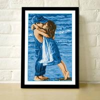 Precise Printed Sea Childhood Design DIY Home Decoration Handmade Needlework Cross Stitch Set Cross-Stitching Embroidery Kit