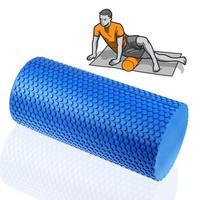 High Quality EVA Physio Yoga Foam Roller Pilates Exercise Massage Gym Fitness Trigger For Men Women Blue Size:30x15cm