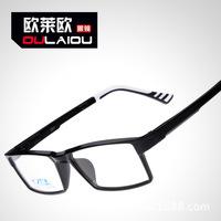frame ultra light TUNGSTEN CARBON imitation plastic steel eyeglass frame of male and female bright myopia glasses frame