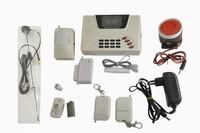 GSM Wireless Intelligent Smart Home Burglar Security Alarm System Power Failure Anti Theif Alarm, Free Shipping, Dropshipping