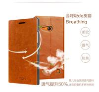100pcs Mofi brand leather cover for nokia lumia 730 leather case dhl FREE SHIPPING