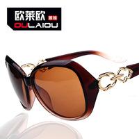 The 2014 ladies polarizer 13121 manufacturers selling diamond cutting block Sunglasses major suit temperament Sunglasses