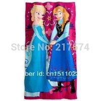 Frozen Towels baby bath towel Children Beach Bath Towel Frozen Elsa & Anna Princess Girls Bikini Covers 76*152cm 10pcs/lot