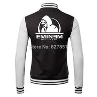 eminem Lovers rock fleece baseball uniform 2014 new female cardigan fleece autumn fashion long-sleeved jacket free shipping