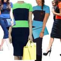 Sexy Club 2014 Fashion Women Striped Plus Size Clothing Bandage Evening Dress Night Green Blue Orange