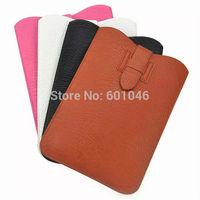 Luxury Soft PU Leather Pouch Case For iPad air/ iPad 5/ iPad 4/ iPad 3  9.7inch Tablets Protective Sleeve