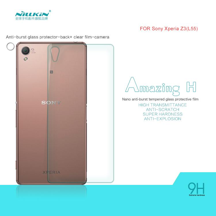 Защитная пленка для мобильных телефонов NILLKIN H Tranparent Sony Xperia Z3 защитная пленка nillkin защитная пленка nillkin для lenovo k910 матовая