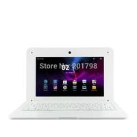 WIFI DHL 10 inch Dual Core Mini Laptop Android 4.2 VIA 8880 Cortex A9 1.5GHZ HDMI WIFI 1GB/8GB