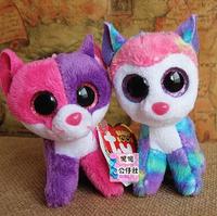 TY big eyes doll 8cm 2pcs/lot dog doll  key pendant lovely toy for baby  FREE SHIPPING  Beanie Boos yx101