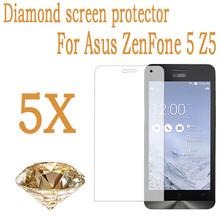 "5.0"" Mobile Phone Diamond Protective Film ASUS ZenFone 5 ZenFone5 Screen Protector Guard Cover Film – 5PCS/Wholesales"