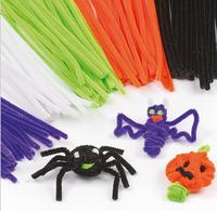 100pcs/set Children's Educational Toys DIY toys materials shilly-stick Plush Stick handmade art Christmas toys,X948