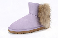 2014 Newest Winter Shoes Geniune Fur Natural Sheep Fur Sheepskin Boots Design Australian Women 5518 Snow Boots not uggsly boots