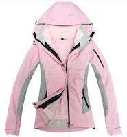 HOT SALE- 2014 Spring and autumn Winter Jackets Women warm fleece liner piece triple outdoor  climbing skiing Coat Jackets