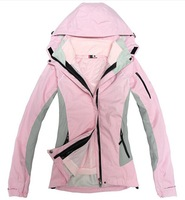 HOT SALE- 2014 Spring and autumn Winter Jackets Women warm fleece liner piece triple outdoor  climbing skiing Coat Jackets