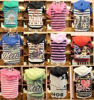 [ Factory outlets] wholesale pet supplies , pet clothes, dog clothes , pet hooded T shirt
