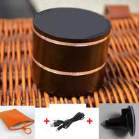 1PCS Free Shipping wireless Bluetooth viber speaker Portable mini surround subwoofer vibration speaker + carry bag + sucker