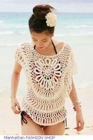 roupa de praia 2014 New Items Summer Women Casual Tops ,Exquisite Handmade Knitted Pullover Cool Beachwear T-Shirts