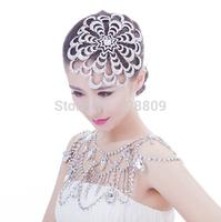 Gorgeous newness flower  Princess crystal crown jewelry  bridal tiaras wedding  dress accessories