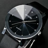 2014 new Wrist Watch for Couple Lovers men Quartz Watch SINOBI Luxury Brand Waterproof Watch