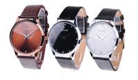 2014 New Arrival SINOBI Brand Leather Strap Watch for Mens Man Fashion Style Quartz Military Waterproof Wristwatch