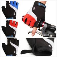 Brand Non-slip Short Gloves Mitten Road MTB cycling motorcycle motocross  gloves windstopper bike gloves Half Finger Glove