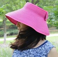 2014 new  free shipping women straw sun hat cap