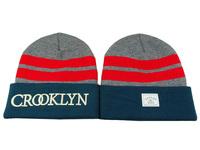 2014 new hot sale winter hat red Stripes beanie for men sports hip hop women caps cotton knitted skullies hats men wholesale