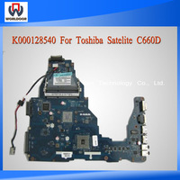 Laptop Motherboard For Toshiba Satellite C660D Mainboard AMD DDR3 Integrated LA-6849P K000128540