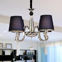 Home barn swallow European simple modern crystal chandelier bedroom restaurant Jiezhuang  lighting engineering 8097/4