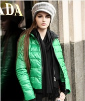 2014 fashion down jacket women short paragraph vitality  Y6W